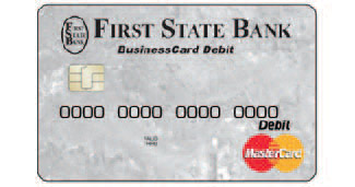 FSB business check card.